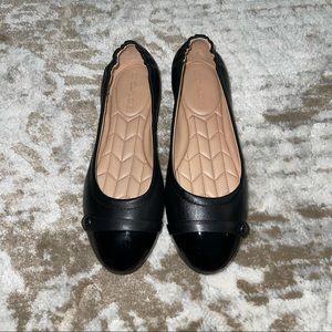 Coach Black Leather Brandi Ballet Flats| 7/8 READ